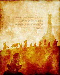 THE FELLOWSHIP lotr lord of the rings modern by modernhomeprints