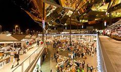 Encants flea market.