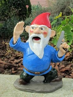 Garden Gnomes With Guns more combat garden gnomes | awesome guns, gnomes and lawn ornaments