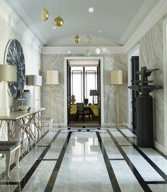 eremas studio: Парижская квартира для принцессы от дизайнера Жана-Луи Денио