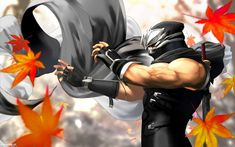 View an image titled 'Hayabusa Illustration' in our Dead or Alive: Dimensions art gallery featuring official character designs, concept art, and promo pictures. Shuriken, Ryu Hayabusa, Samurai, Spongebob Drawings, Japanese Site, Ninja Gaiden, Mask Images, Ninja Art, Super Soldier