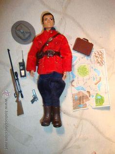 ¡LOS ORIGINALES! MADELMAN 2ª SERIE, POLICIA CANADA, ORIGINAL MADEL S.A, AÑOS 70. NO COPIAS.
