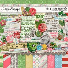 This Life: March by Penny Springmann available in Sweet Shoppe Designs
