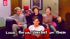 I was rewatching the video diaries last night. Gotta love Louis saying/doing the randomest things!! <3