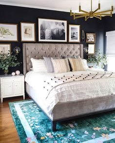 """296 Likes, 7 Comments - HD Buttercup (@hdbuttercup) on Instagram: """"A heavenly bedroom by Dee Murphy @murphydeesign. Featuring our Cleo bed. ⠀ ⠀ Love everything about…"""""""