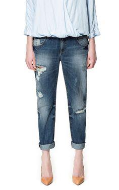 SLIM BOYFRIEND JEANS - Jeans - Woman - ZARA Canada
