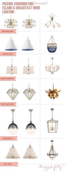 Best Let There Be Light Images On Pinterest Hanging Lights - Kitchen nook light fixtures