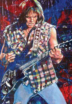 Neil Young by Robert Hurst