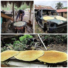 Cassava bread also had in Kano Nigeria!!!!