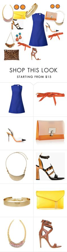 """Oh so blue"" by resa-noel on Polyvore featuring Valentino, Manila Grace, Sophia Webster, Proenza Schouler, Dorothy Perkins, Henri Bendel, Natasha Collis, TIBI and Clare V."