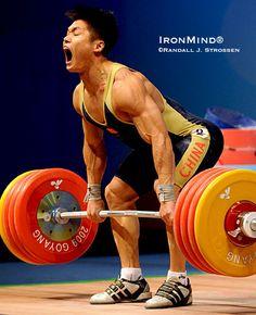 Lu Xiaojun 211 kg attempt