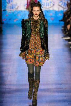 Sfilata Anna Sui New York - Collezioni Autunno Inverno 2017-18 - Vogue