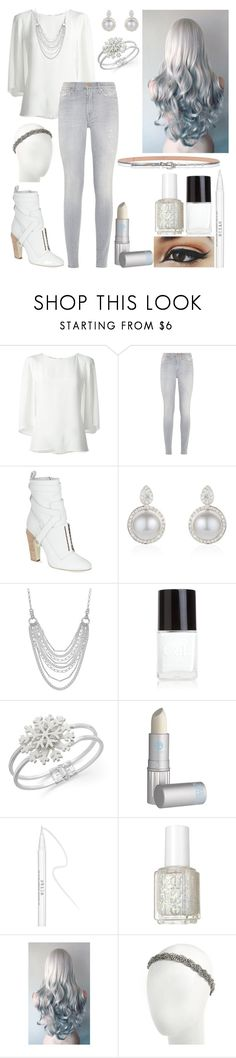 """Random OC: Grace Silver (The Avengers movie)"" by mjzahner ❤ liked on Polyvore featuring Oscar de la Renta, 7 For All Mankind, Fendi, Chaps, Crabtree & Evelyn, Charter Club, Lipstick Queen, Stila, Essie and Henri Bendel"