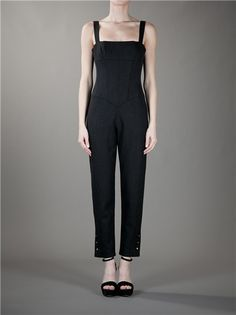 CHANEL VINTAGE - boned bodice Jumpsuit from A.N.G.E.L.O. VINTAGE PALACE