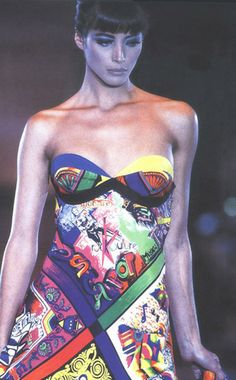 Christy Turlington: Gianni Versace, 1991