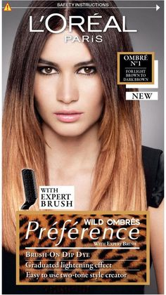 L Oreal Paris Preference - Wild Ombre 1 - Light Brown To Dark Brown   8ac900bc3bacc