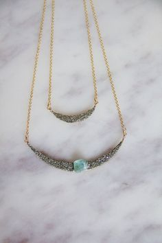 Items similar to Fluorite and Pyrite Crescent Necklace, Collar Necklace on Etsy Crescent Necklace, Collar Necklace, Turquoise Necklace, Trending Outfits, Unique Jewelry, Handmade Gifts, Vintage, Etsy, Products