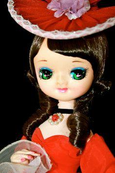 Vintage Christmas Big Eye Pose Doll Bradley by gifthorsevintage, $74.00