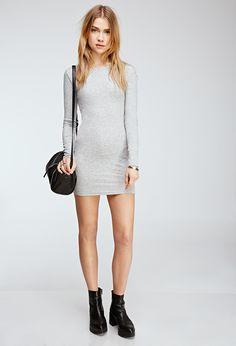 Thermal Bodycon Dress - Dresses - 2000055678 - Forever 21 UK £12