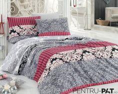 Set cuvertura pat pentru doua persoane Anatolia grey Comforters, Blanket, Bed, Furniture, Home Decor, Creature Comforts, Quilts, Decoration Home, Stream Bed