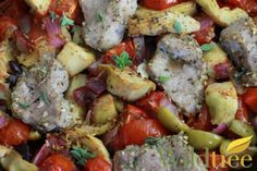 Tuscan Pork Medallions - Wildtree Recipes looking to purchase some Wildtree products? Comment or message me for details.