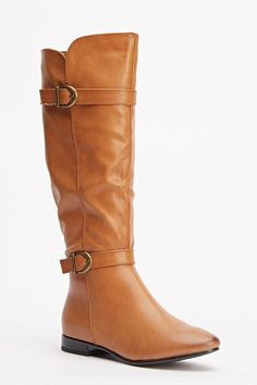 Womens Ladies Tan Low Block Heel Buckle Knee High Boots Size UK 4,5,6,7,8 New  Click On Link To Visit My Ebay Shop http://stores.ebay.co.uk/all-about-feet  Useful Info: - Standard Size - Standard Fit - By Super Mode - Tan In Colour - Heel Height: 0.8 Inches - Inner Side Zip Fastening - Gold Buckles - Synthetic Leather Upper - Faux Fur Interior #boots #kneehighboots #kneeboots #tanboots #tan #lowheel #fashion #footwear #forsale #womens #ebay #ebayseller #ebayshop #ebaystore