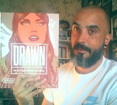 I'd been working hard on the last 3 years to have my work outthere. So proud to be in 'Drawn: The Best Illustrators Worldwide' by #crookspress. Great selection of artist inside. #egorodriguez #illustration #freelancelife #artworld #instagramart #igers #drawn #Londonartist