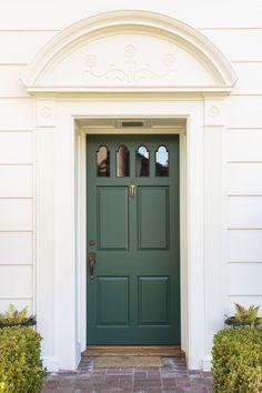 Green Door May 23 2019 At 12 39am Green Front Doors Front Door Design Painted Front Doors