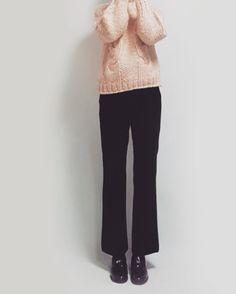 banetd 바냇디 korean shoppingmall naver storefarm  -- 2016fw fashion lookbook / mango-thread knit , boots cut slacks