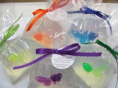 "Fish in a Bag Gift Soap - My Pet Fish - ""Cutest Soap Ever"". $6.00, via Etsy."