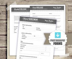 Photography business forms kit contract model by hazyskiesdesigns photography business forms kit contract model by hazyskiesdesigns 4000 templates and free printables pinterest photography business business and cheaphphosting Choice Image
