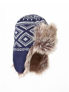 Fair isle trapper hat Baby Boy Hats, Trapper Hats, Winter Photos, Beautiful Images, Winter Pictures