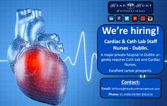 #Medical #Cardiac #Nurse #hiring #opportunity #career #hospital  #jobsearch #job Cardiac Nursing, Private Hospitals, Job Search, Opportunity, Health Care, Career, Medical, Carrera, Medicine
