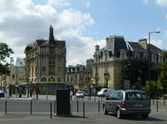 Reims, France: City view