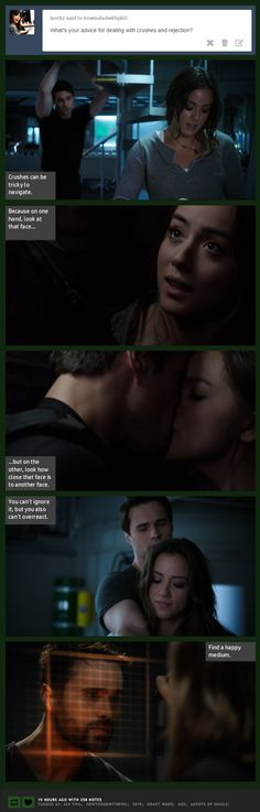 Crushes can be tricky to navigate    Skye, Grant Ward    How to Dad (with Phil Coulson)    #humor #fanedit #skyeward