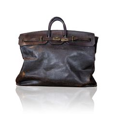 1912 Hermes Large Travel Bag | Sac Haut a Courroies
