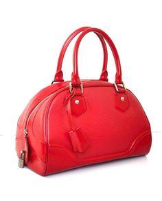"⭐️Authentic Bag By Prita⭐️ on Instagram: ""LV Montaigne Epi Red (32x20cm) @5.500.000nett"""