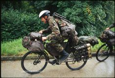 Seriously... the swiss army bicycle brigade