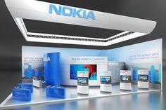 Nokia Exhibition Design-Concept by IGOR IASTREBOV at Coroflot.com