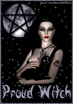 wiccan graphics | wiccan witch in red graphics and comments
