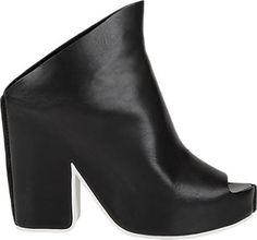 Balenciaga Slingback Platform Mules - Sandals - Barneys.com