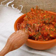 Икра кабачковая - Сыроедение, рецепты и диеты - Rawsay