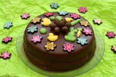 Gâteau de Pâques au chocolat facile