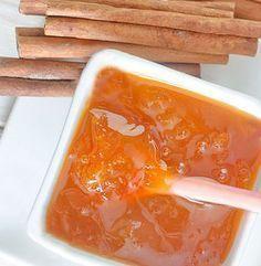 Con esta receta de mermelada de manzanas y canela puedes preparar confituras de otras frutas como peras o membrillos, La elaboración es la misma.