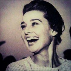 Great smile, Audrey Hepburn