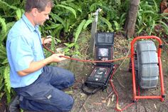 Specialist CCTV camera used to decipher source of a blocked drain Plumbing, Sydney, Infinity, Infinite