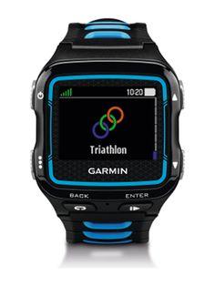 Garmin Forerunner 920XT, schwarz/blau - Triathlonuhr