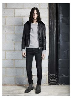 MILES MCMILLAN FOR ALLSAINTS FALL/WINTER 2013