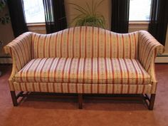 Sofa Couch in Stripe - #00117
