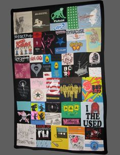 I think I will do this with all my concert tees once I'm too old to wear them lol :)